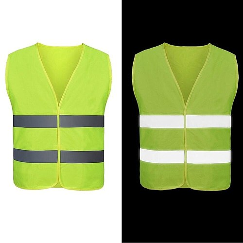 High Quality Car Reflection Vest Clothing Motorcycle Vest for Safety Vest Work for Outdoor Running Cycling Sports