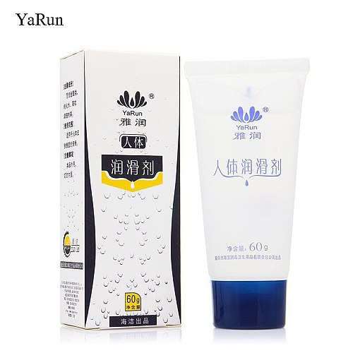 Yarun Brand 60g Sex Lubricant For Sex Lubricante Anal Vagina Water soluble Lubrication Massage Oil Anal Lube Sexo