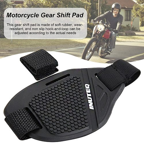 Rubber Motorcycle Shoes Protective Gear Shift Pad Moto Anti-skid Gear Shifter Lightweight Boot Cover Shifter Guards Protector