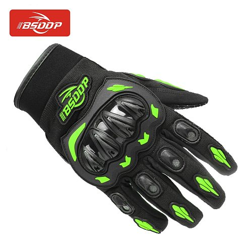 Motorcycle Gloves Winter&Summer Breathable Full Finger Racing Gloves Outdoor Sports Protection Riding Cross Dirt Bike Gloves