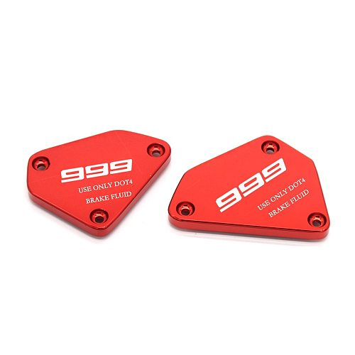 High quality Fit For Ducati 999 999S 999R 749 749S 749R 03-06 Bike CNC Front Brake Clutch Oil Reservoir Fluid Cap LOGO 999 749