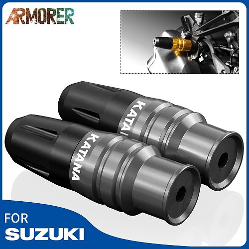 Universal Motorcycle Accessories Parts Exhaust Sliders Crash Pads Protector Frame Falling Protectors For Suzuki KATANA 2020