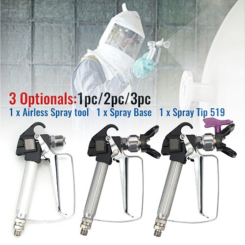 Spray Gun With 519 Nozzle Airless Paint Sprayer Accessories 3600PSI For Spray Paint Latex Oil For Wagner Paint Sprayer Machine