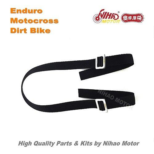 OT-110 Motocross Parts Universal Shock Absorber Rescue Belt For KTM Motorbike Enduro Kit Dirt bike spare cross Nihao Motor