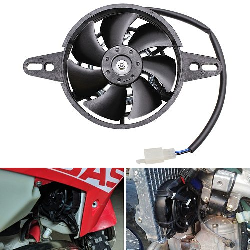 200cc 250cc 300cc Motorcycle Cooling Fan Dirt Pit Bike Motorcycle ATV Quad Oil Cooler Water Cooler Radiator Electric 12V