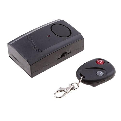 Bike Anti-theft Vibration Alarm Locks Security Wireless Remote Control