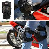 2PCs Adult Motorbike Motorcycle Knee Armour Protective Guards Pads Off-Road Racing Crashproof Adjustable Racing Car Accessories