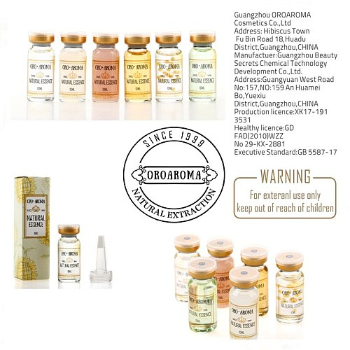Famous brand oroaroma natural EGF face serum essence Essence of the skin to restore the elasticity of face skin care products