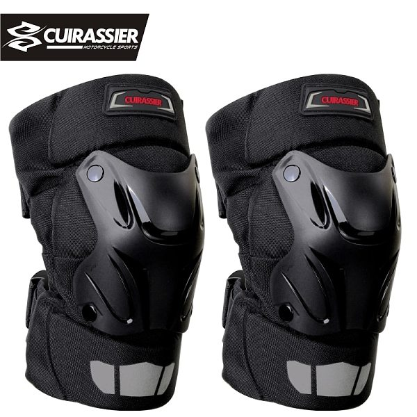 Motorcycle Knee Pads Guards Cuirassier Elbow Racing Off-Road Protective Kneepad Motocross Brace Protector Motorbike Protection