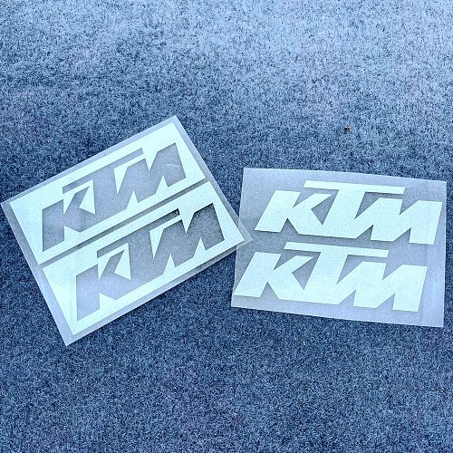 A Pair Of Body Pedal Tank Helmet Motorcycle Hollow Logo Decal REFLECTIVE Sticker Duke 125 200 250 390 690 790 990 1090 1290 RC8
