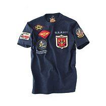 WW2 Top Gun O Neck Military Air Force Pilot Patch Female Male T-shirt WAPPEN BADGES Summer T Shirt Men 100% Cotton Streetwear