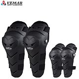 4pcs Motorcycle Knee Brace Pads MX MTB DH ATV Motocross Knee Guard Protector Off-road Racing Cycling Knee Pads Elbow Protective