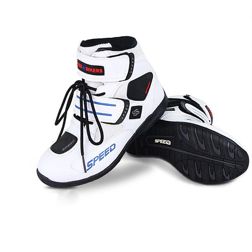 Professional Motorcycle Men woman's Bota Motocross Botas Moto Motorboats Shoes Motorbike Racing Career Bicycle Speed Boots