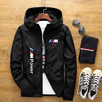 2021 spring and summer new high mountain star jacket men's street windbreaker hoodie zipper thin jacket men's casual jacket 7XL
