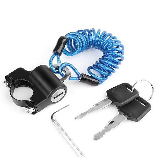 Steel Cable Anti-Theft Helmet Lock Anti-Theft Helmet Lock Helmet Security Lock Motorcycle Helmet Lock With Helmet Lock