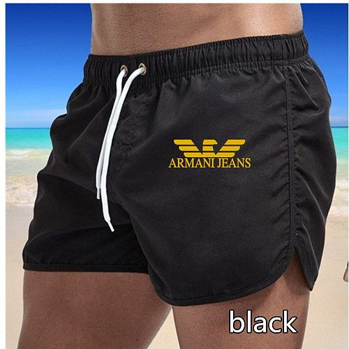 New Men Fitness Bodybuilding Shorts Man Summer Gyms Workout Male Breathable Mesh Quick Dry Beach Short Pants Jogger Sportswear