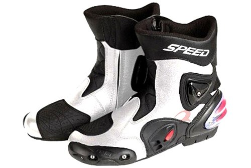 Pro-biker boots speed motorcycle race automobile medium-long boots cross-country shoes