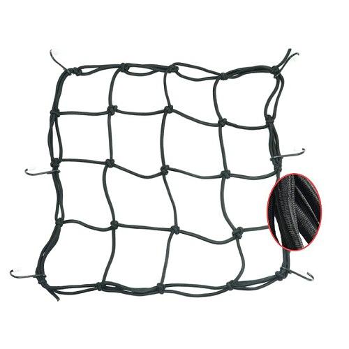 QIPO Universal Motorcycle Bicycle Helmet Net Cargo Luggage Hold Down Storage Bag Motorbike Rope Bags Mesh For Honda BMW