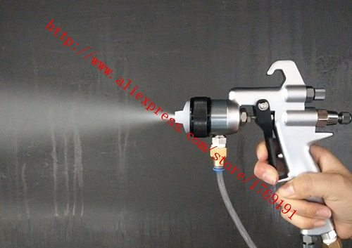 high quality 316 stainless steel single head chrome spray gun chrome paint spray gun spray chemical pure water anti-corrosion