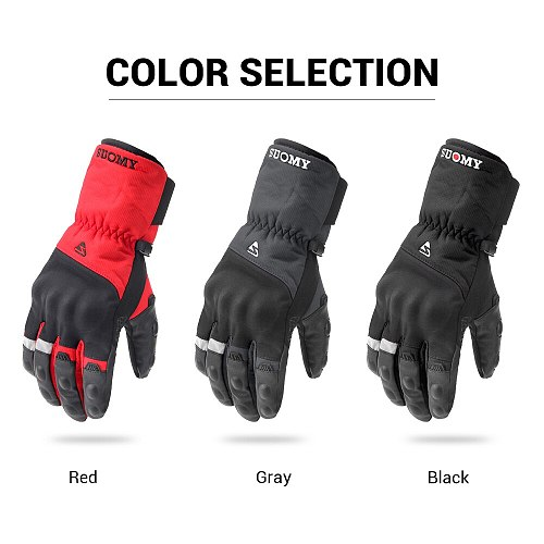 Winter Motorcycle Gloves Waterproof Moto Motocross Gloves Windproof Moto Gloves Touch Screen Motorbike Riding Guantes