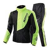 SCOYCO 21 Motorcycle Rider Raincoat Reflective Adjustable Motocross Raincoat Racing Protective Gear Waterproof Moto Raincoat