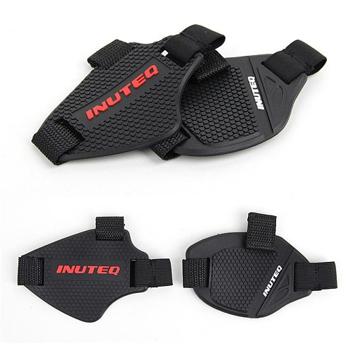 Motorcycle Gear Shift Pad Adjustable Motorcycle Shoe Cover Durable Lightweight Boot Protector For Riding Moto Accessaries