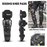 2PCS Warm Cycling Motorcycle Knee Pads Motocross Knee Protector Guard Moto Knee Protector Protective Gear Motorcycle Riding Knee