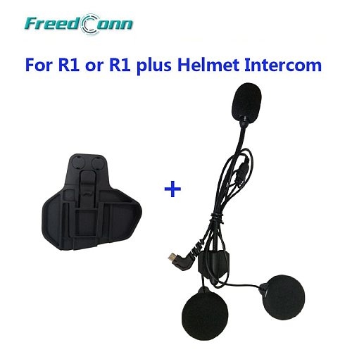 Freedconn Clip Parts for R1 /R1 Plus Motorcycle Bluetooth Waterproof Helmet Interphone Clip Buckcle Accessories