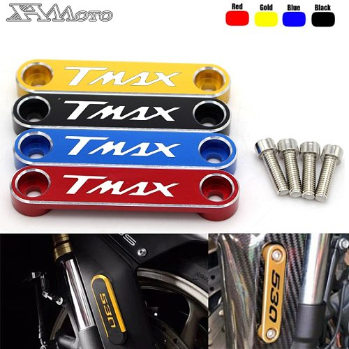 For Yamaha TMAX 530 2015-2016 T MAX 530 SX/DX 2017 2018 2019 Motorcycle Accessories Front Axle Coper Plate Decorative Cover