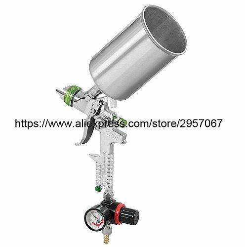 HVLP Gravity Spray Gun Manual spray gun 2.5mm 1000 cup Professional spray gun