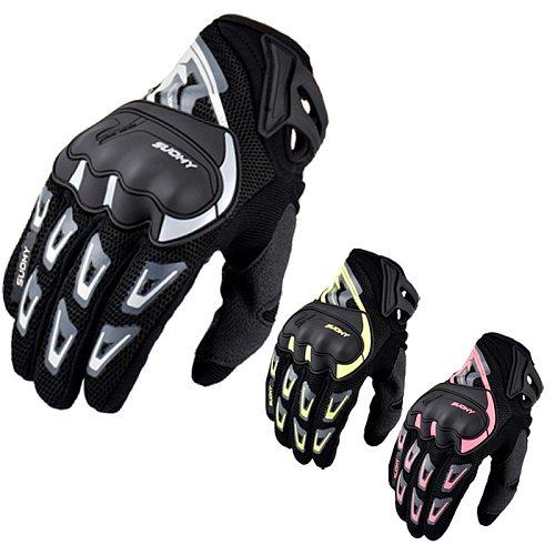 2019 New Arrival Suomy Motorcycle Gloves Summer Mesh Breathable Moto Gloves Men Women Touch Screen Motocross Gloves