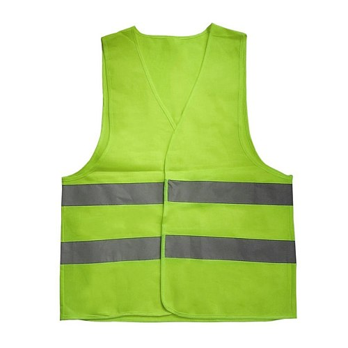Motorcycle Reflective Warning Vest Working Clothes High Visibility Day Night Protective Vest For Running Cycling Traffic Safety