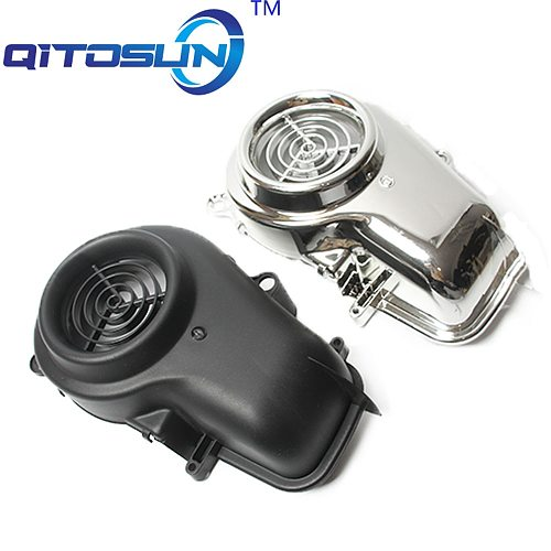 Motorcycle Accessories For 5SU SA16J JOG50 ZR EVOLUTION Motorcycle scooter chrome fan cover