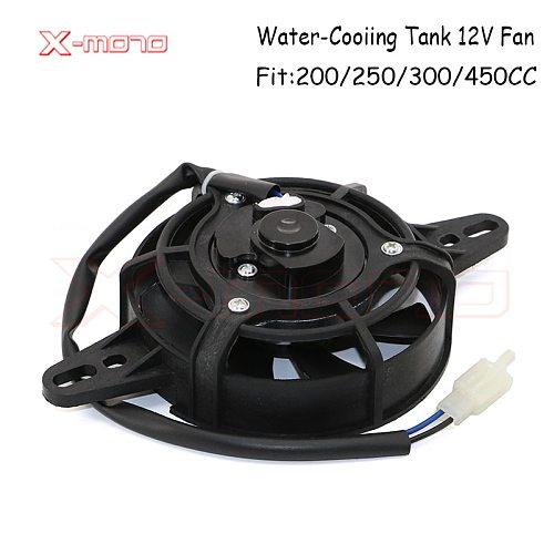 12V 35W Motorcycle Cooling fan Oil Cooler Electric Radiator Engine Radiator fit For ATV GO-kart Ktm 85 exc 250  Honda CRF 450X