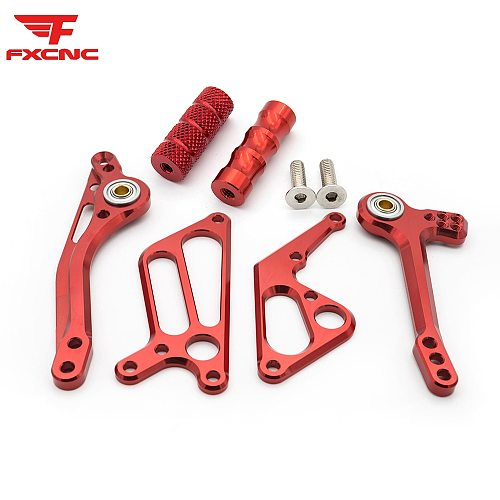 For Ducati Monster 696 2008-2014 2013 CNC Aluminum Alloy Motorcycle Rearset Footrest Footpeg Pedal Rear set Rear Accessories