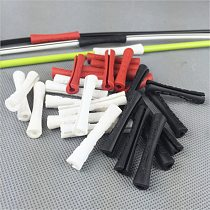 10pcs Bike Outer Brake Gear Cable Wrap Protector Cover Bicycle Brake Shift Line Cable Protective Sleeve Cycling Accessories part