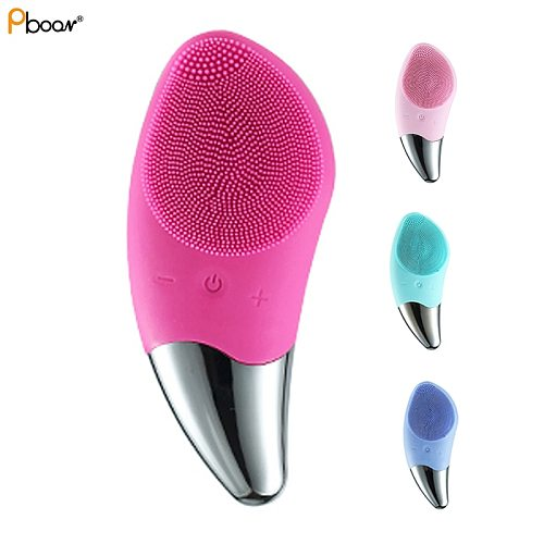 Face Cleansing Brush Skin Care Tools Soft Silicone Material Wash Facial Brush Vibration Massage and Facial Clean