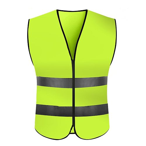 KAWOSEN Highlight Reflective Night Work Security Running Cycling Safety Reflective Vest High Visibility Reflective Safety Jacket