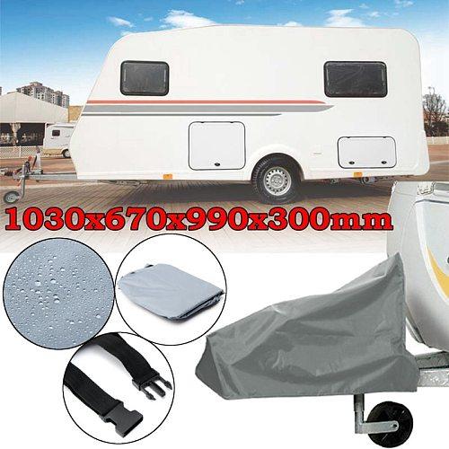 Universal Caravan Hitch Cover Waterproof Dustproof Trailer Tow Ball Coupling Lock Cover For Rv Motorhome