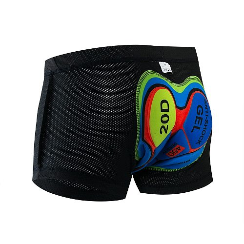 Fualrny 2021 Upgrade Cycling Shorts Cycling Underwear Pro 19D Gel Pad Shockproof Cycling Underpant Bicycle Shorts Bike Underwear