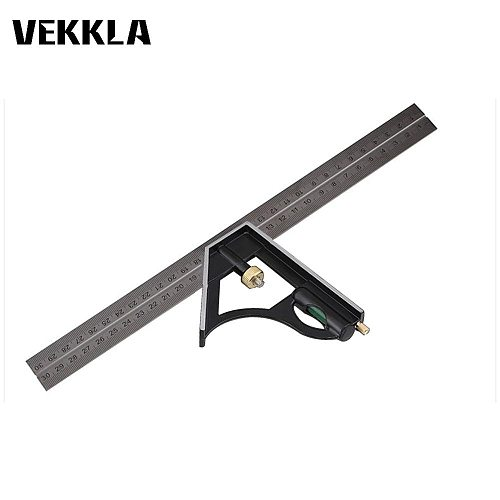 3in1 300mm 0-180 Degree Multi Combination Square Set Angle Finder Protractor Spirit Level Ruler Measuring Tools Set