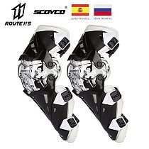 Scoyco Motorcycle Knee Pad Men Protective Gear Knee Gurad Knee Protector Rodiller Equipment Gear Motocross Joelheira Moto New