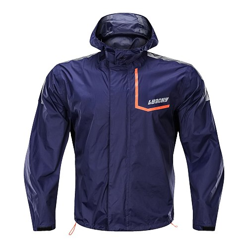 LYSCHY Motorcycle Rider Raincoat Suits Fishing Outdoor Jacket Pants  Raincoat Motorcycle Fishing Camping Rain Gear Mens Coat 4XL