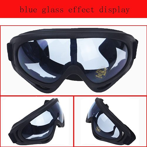 Motorcycle Accessories Bike ATV Motocross UVProtection Ski Snowboard Off-road Goggles FITS OVER RX GLASSES Eyewear For Helmet