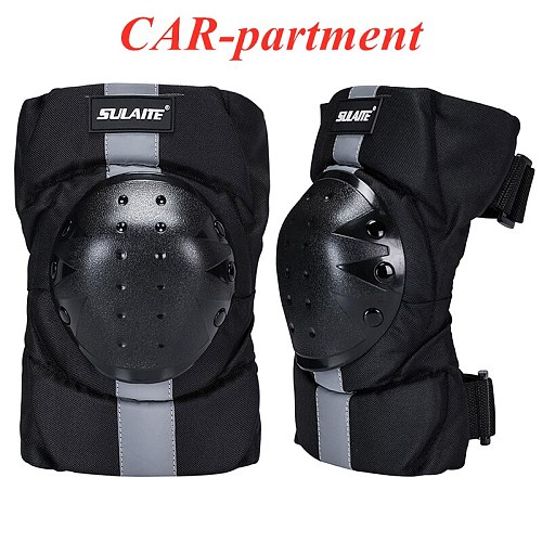 New Motorcycle Motocross Knee Pads Armor Protector Elbow Racing Off-Road Protective Cycling Roller Skating Motorbike Protection