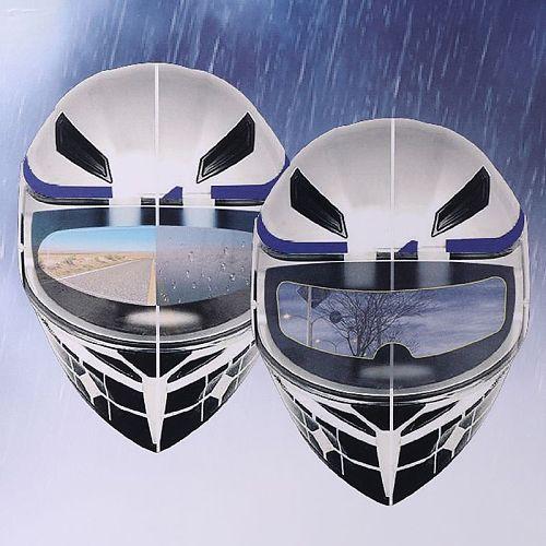 Universal Motorcycle Helmet Clear Rainproof Film Anti Rain Patch Screen for K3 K4 AX8 LS2 HJC MT Helmets