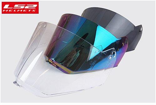 LS2 MX436 Pioneer Helmet Visor LS2 Motocross motorcycle helmet replacement Shield Capacete LS2 MX436 casco moto shield glasses
