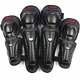 Motorcycle Knee Pads Protector Motocross Knee Pads Elbow Clothing Dual Use Sports Protection Four Set Ergonomics Protective Gear
