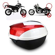 2020 New Large Capacity Shock-proof Motorcycle Tail Box Universal Electric Bicycle Trunk Top Case With Safety Lock Buckle