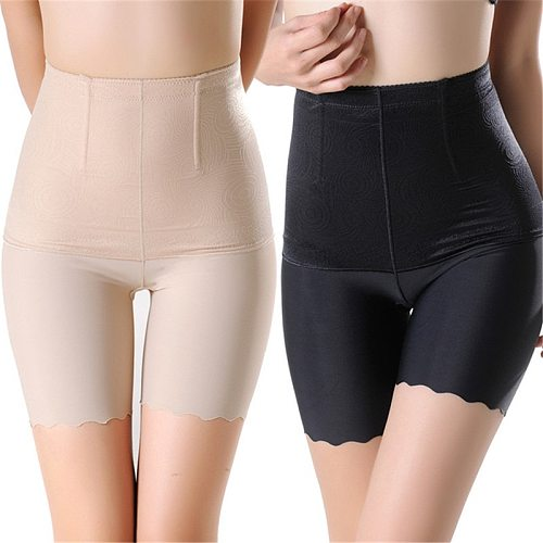 High Waist Women Seamless Safety Short Pants Tummy Control Slim Underwear Plus Size 4XL Breathable Shorts Boxer Under Skirt